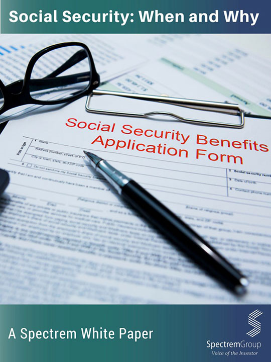 Social Security: When and Why