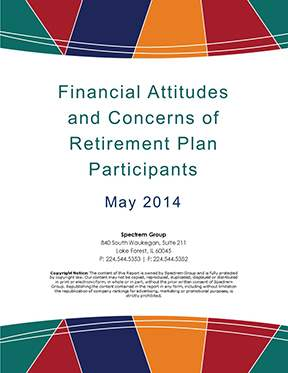 DC Participant Insight Series - Financial Attitudes and Concerns 2014