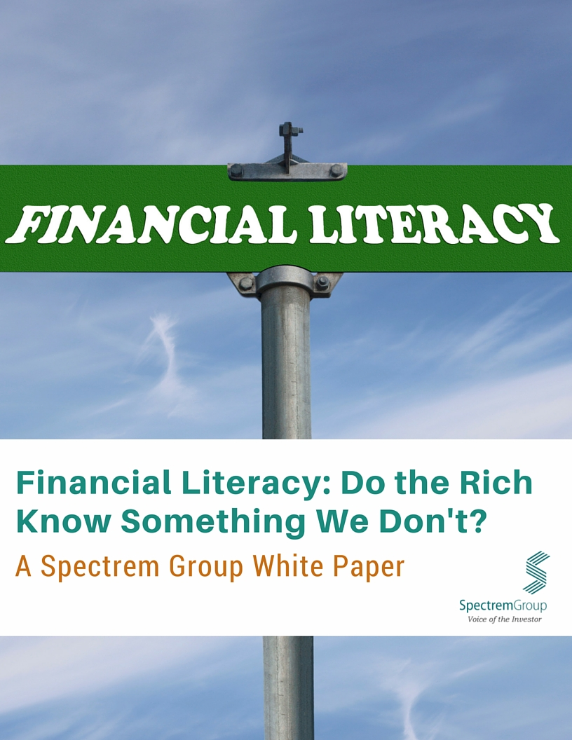 Financial Literacy: Do the Rich Know Something We Don't?