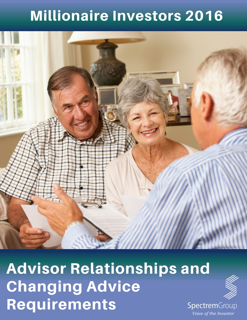 Advisor Relationships and Changing Advice Requirements - 2016 Millionaire