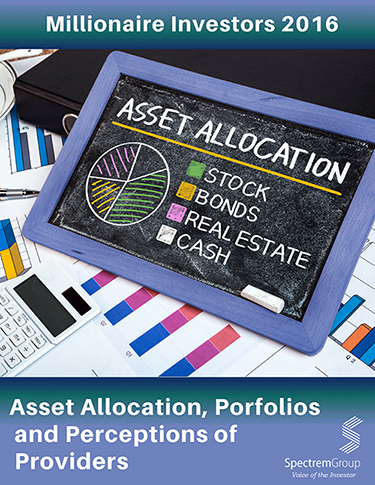 Asset Allocation, Portfolios and Primary Providers - 2016 Millionaire
