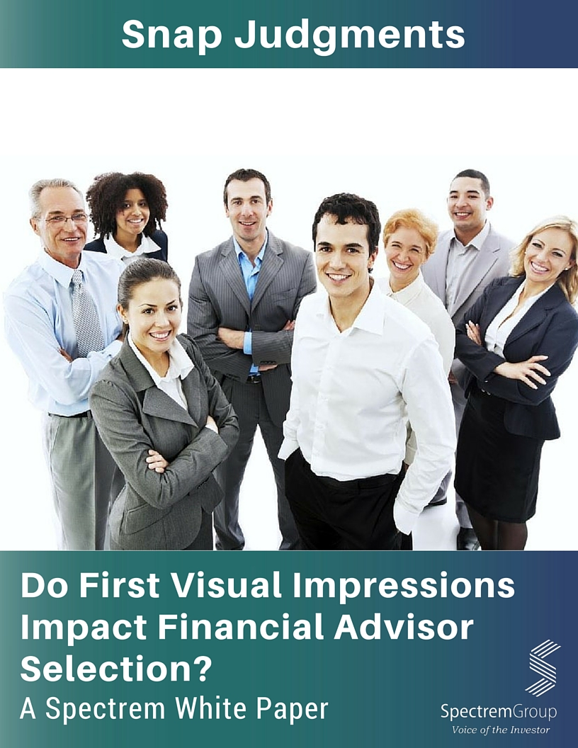Snap Judgments: Do First Visual Impressions Impact Financial Advisor Selection?