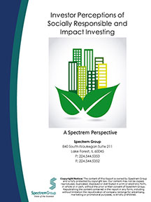 Investor Perceptions of Socially Responsible and Impact Investing