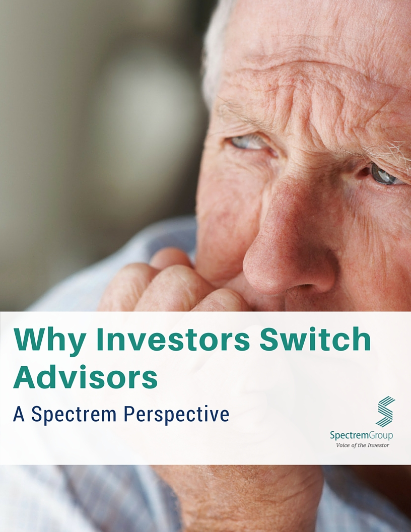 Why Investors Switch Advisors: A Spectrem Perspective