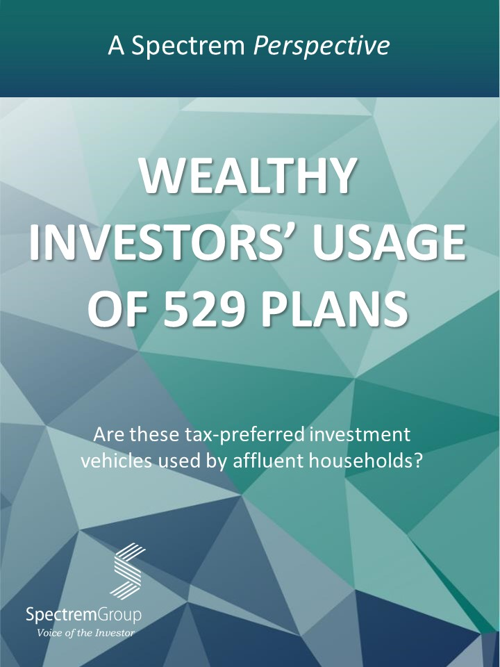 Wealthy Investors' Usage of 529 Plans
