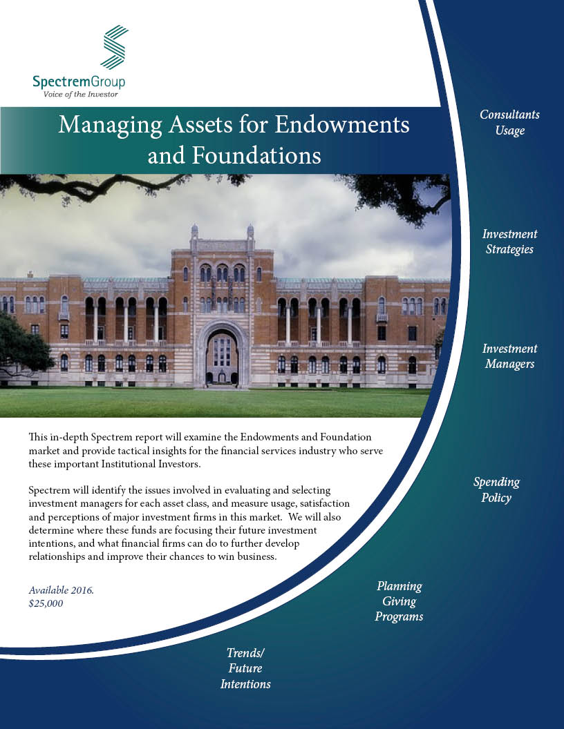 Managing Assets for Endowments and Foundations