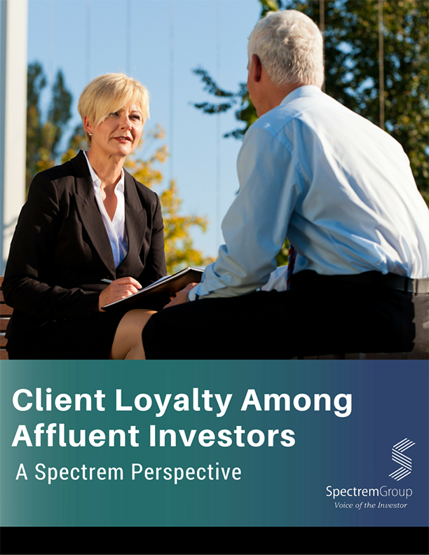 Client Loyalty Among Affluent Investors