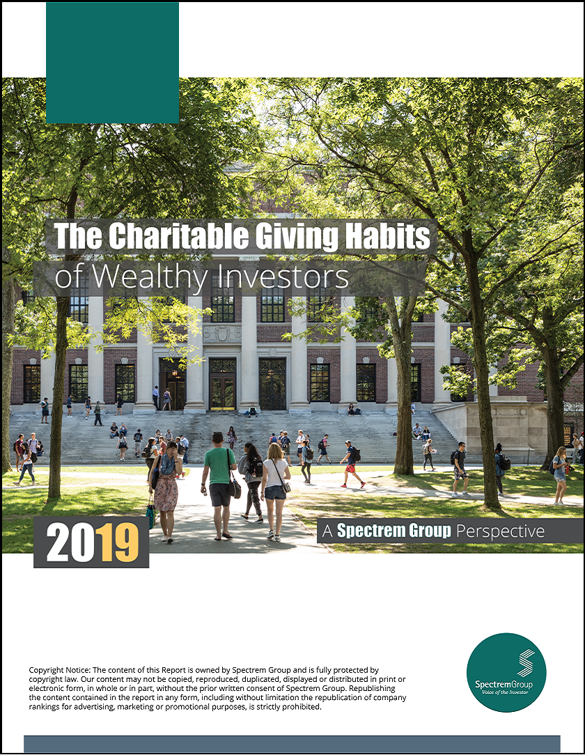 The Charitable Giving Habits of Wealthy Investors