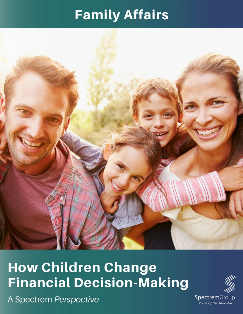Family Affairs: How Children Change Financial Decision-Making