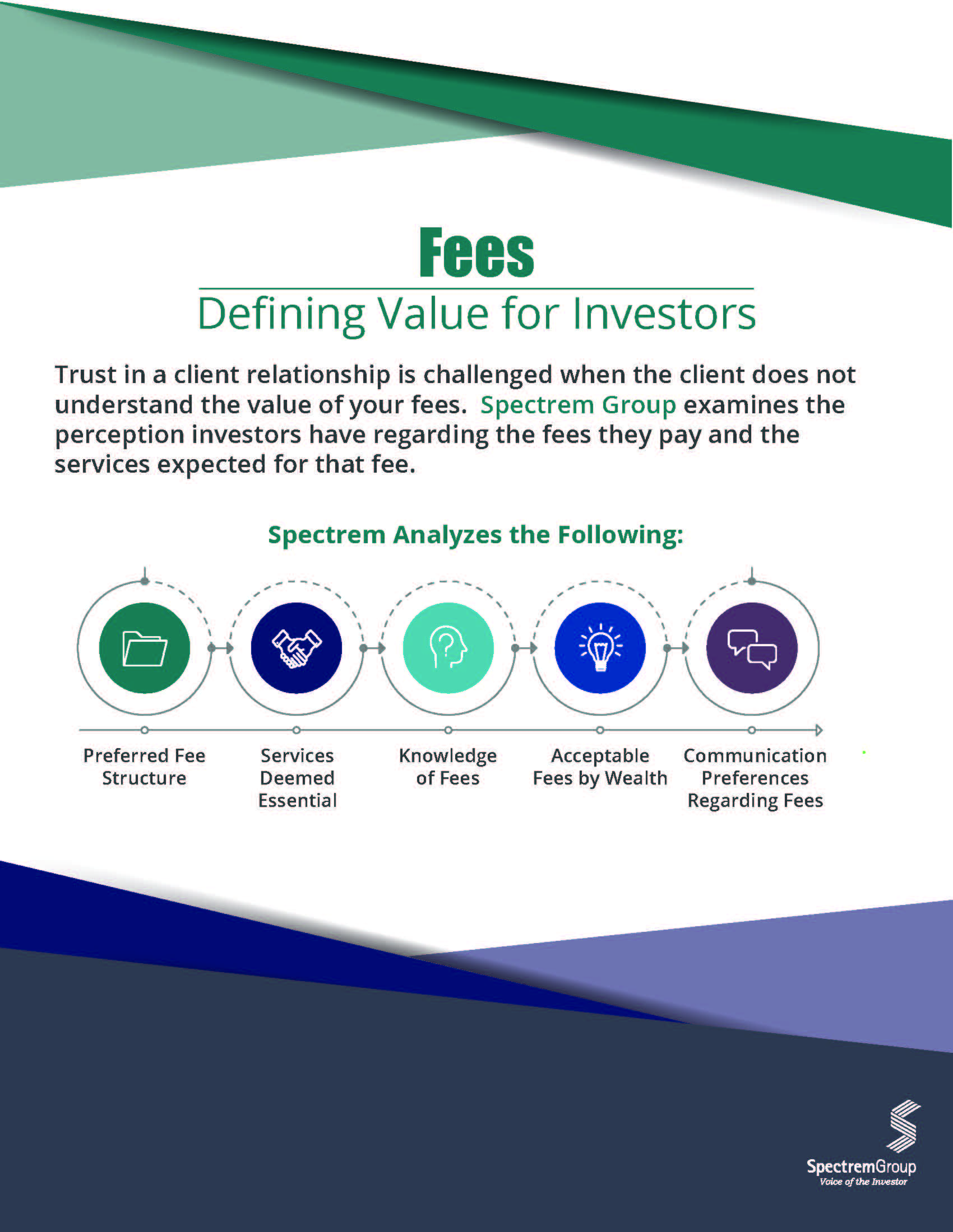 Fees: Defining Value for Investors