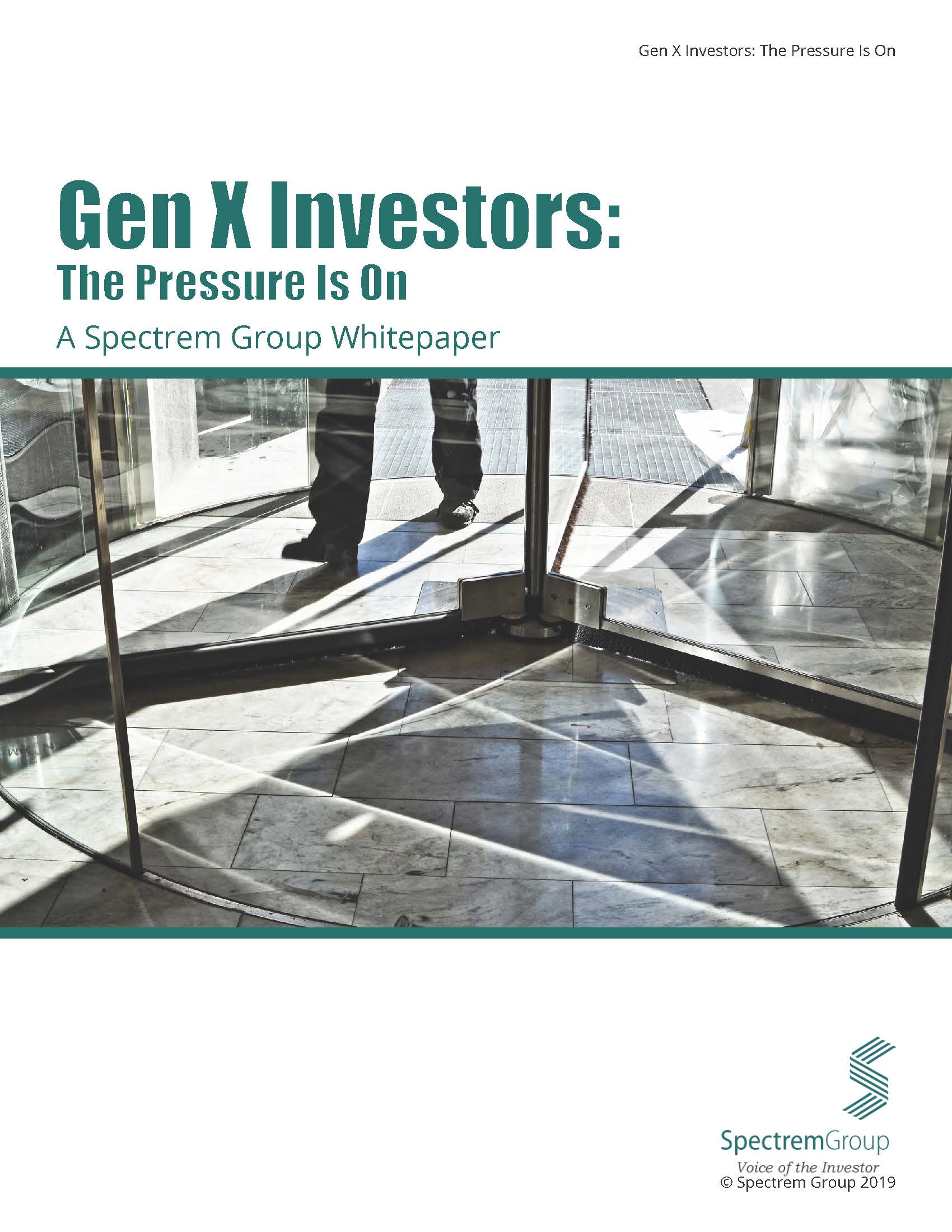 Gen X Investors: The Pressure is On