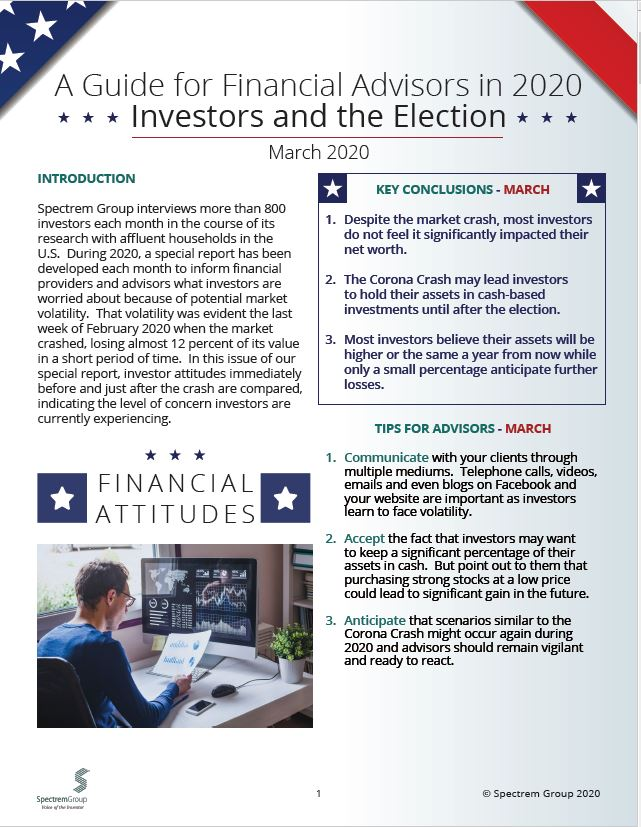 Wealthy Investors and the Election: A Guide for Financial Advisors in 2020 - March