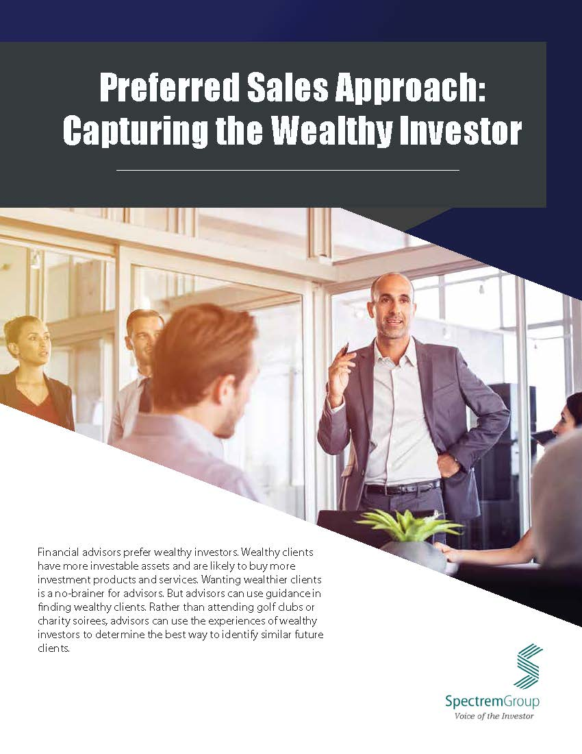 Preferred Sales Approach: Capturing the Wealthy Investor