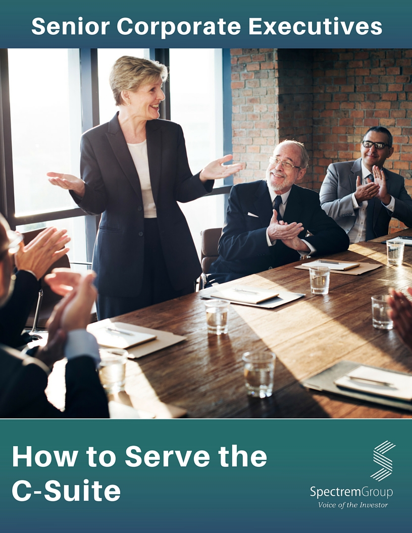 Senior Corporate Executives: How to Serve the C-Suite