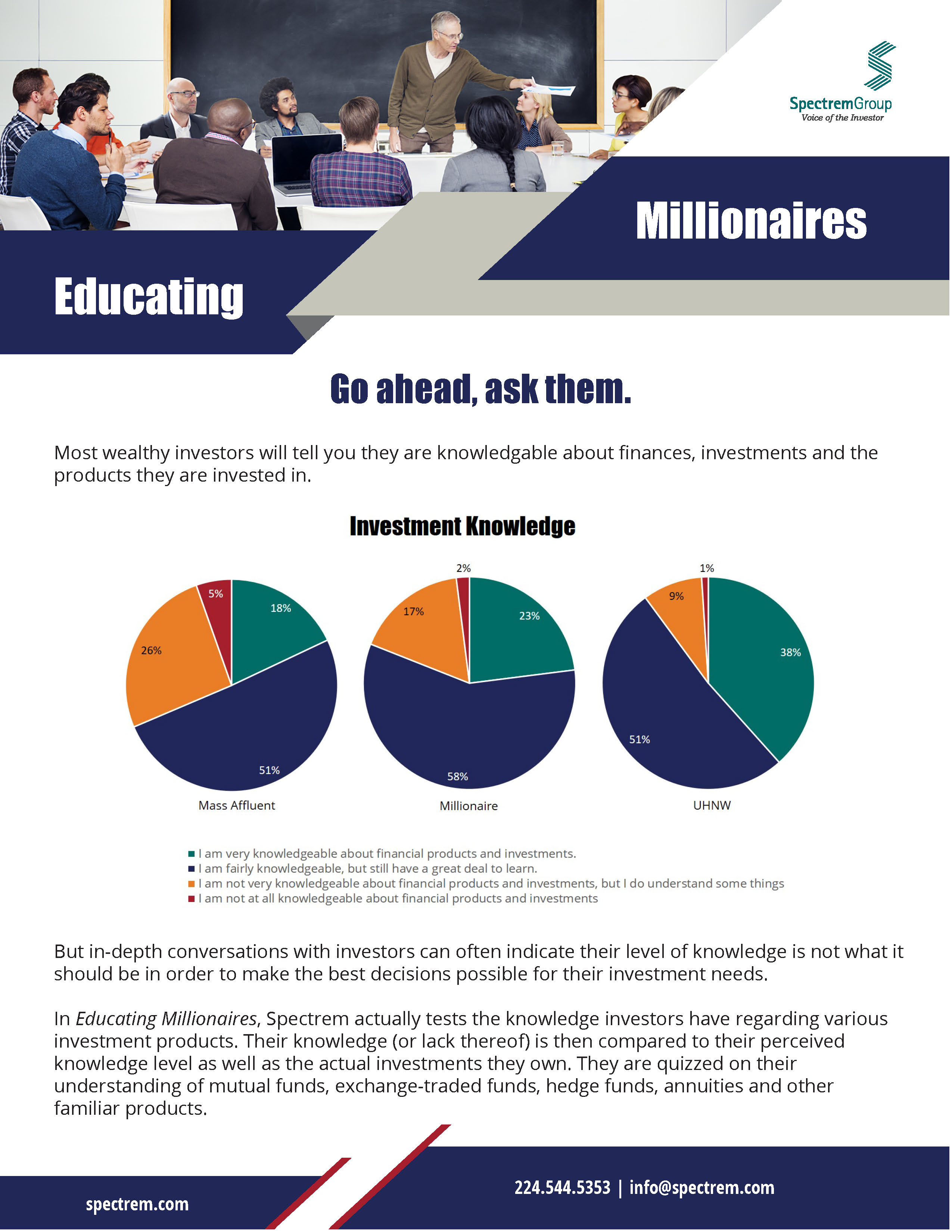 Educating Millionaires: Filling in the Blanks