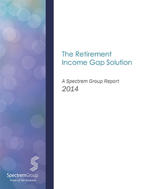 The Retirement Income Solution Gap