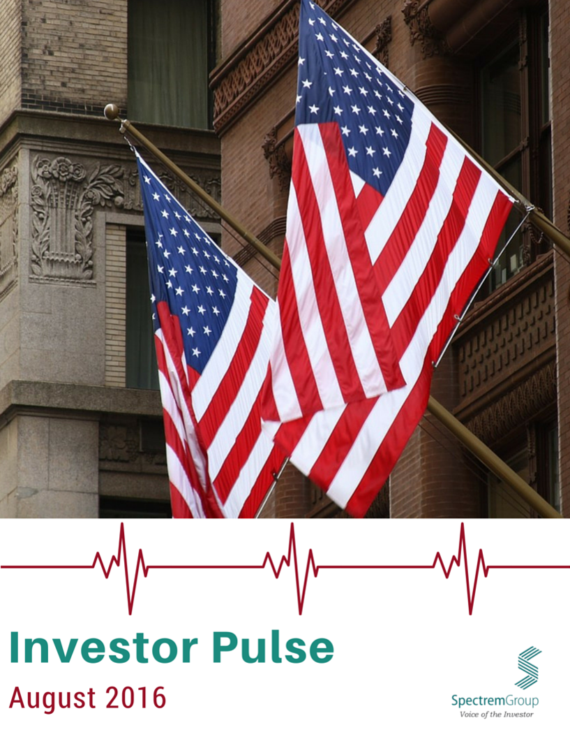 August 2016 Investor Pulse