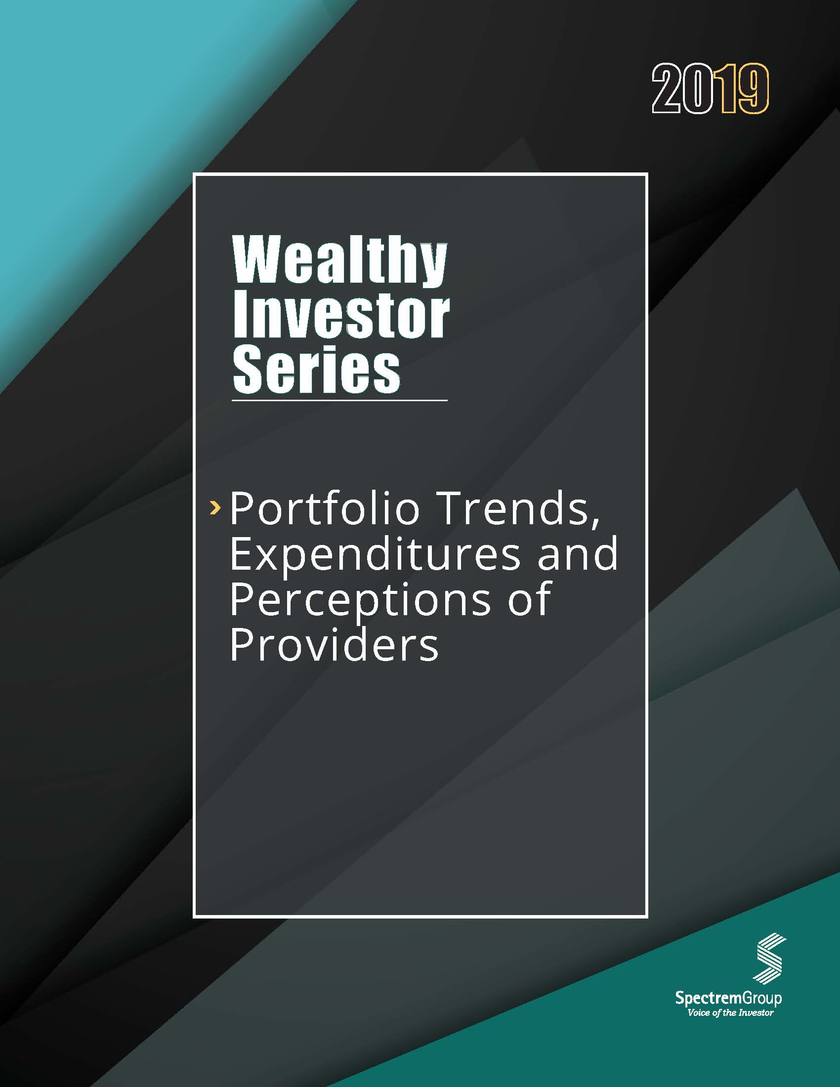 Wealthy Investor Series: Portfolio Trends, Expenditures, and Perceptions of Providers