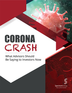 The Corona Crash: What Advisors Should be Saying to Investors Now